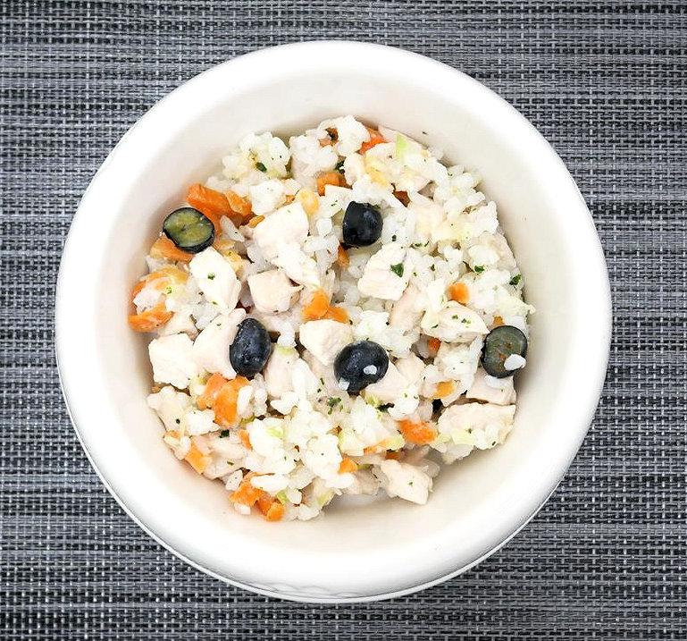 記事 鶏胸肉とブルーベリー with BASE FOODのアイキャッチ画像