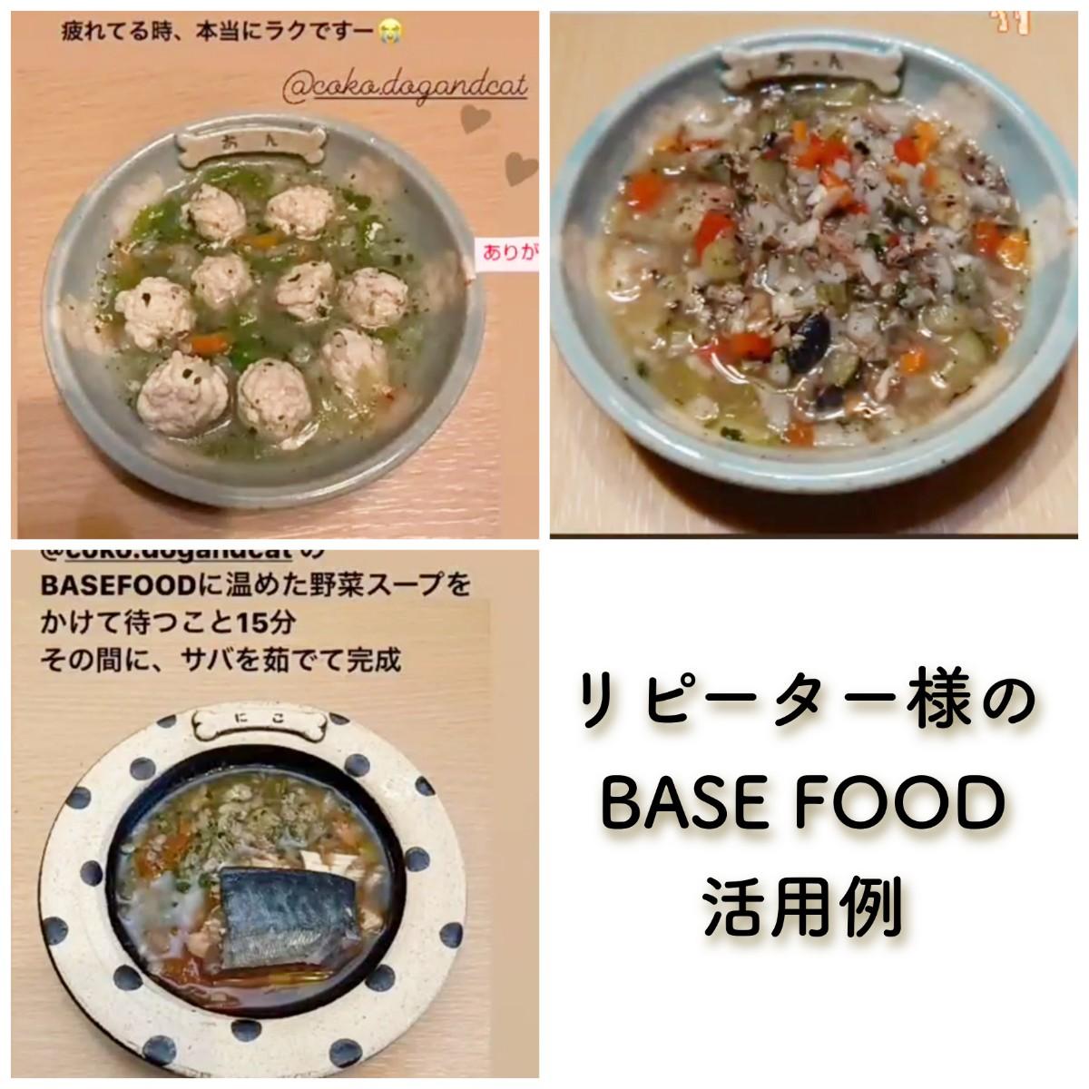 記事 リピーター様のBASE FOOD活用例♪のアイキャッチ画像