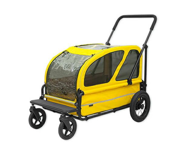 送料無料 エアバギーキャリッジ2点セット ペットカート 大型犬用 正規保証つき AIRBUGGY carriageアイキャッチ画像