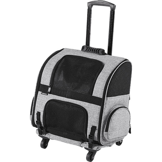 送料無料 エアバギー フィット 移動用ローラー付きキャリー ペットカート 小型犬 猫 AIRBUGGY FITTアイキャッチ画像