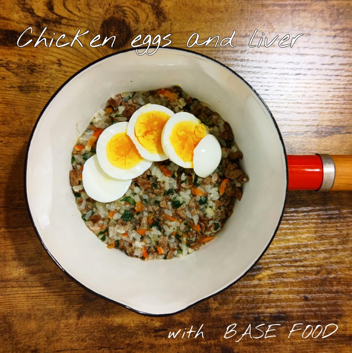 記事 鶏の卵&レバー with BASE FOODのアイキャッチ画像
