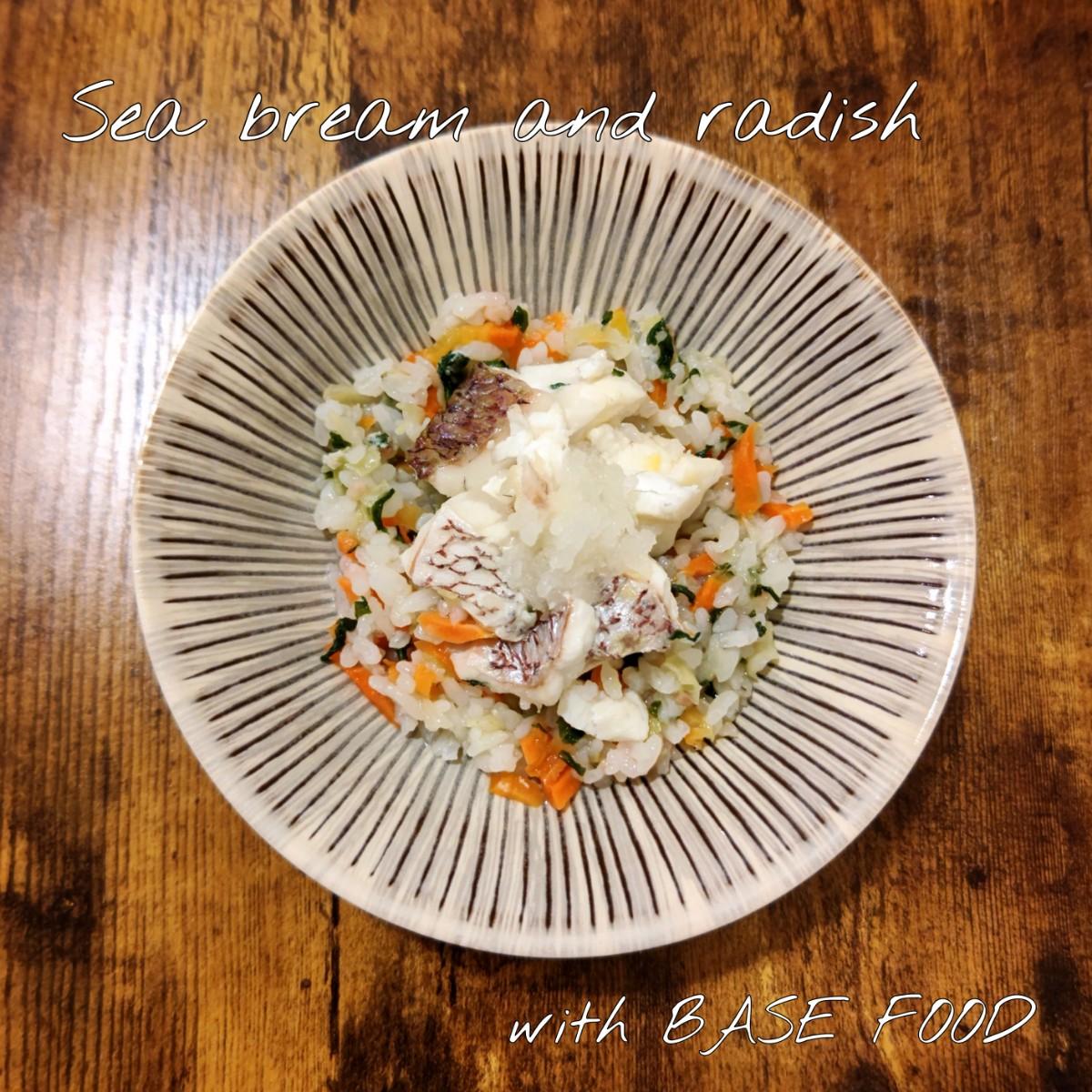 記事 鯛と大根おろし with BASE FOODのアイキャッチ画像